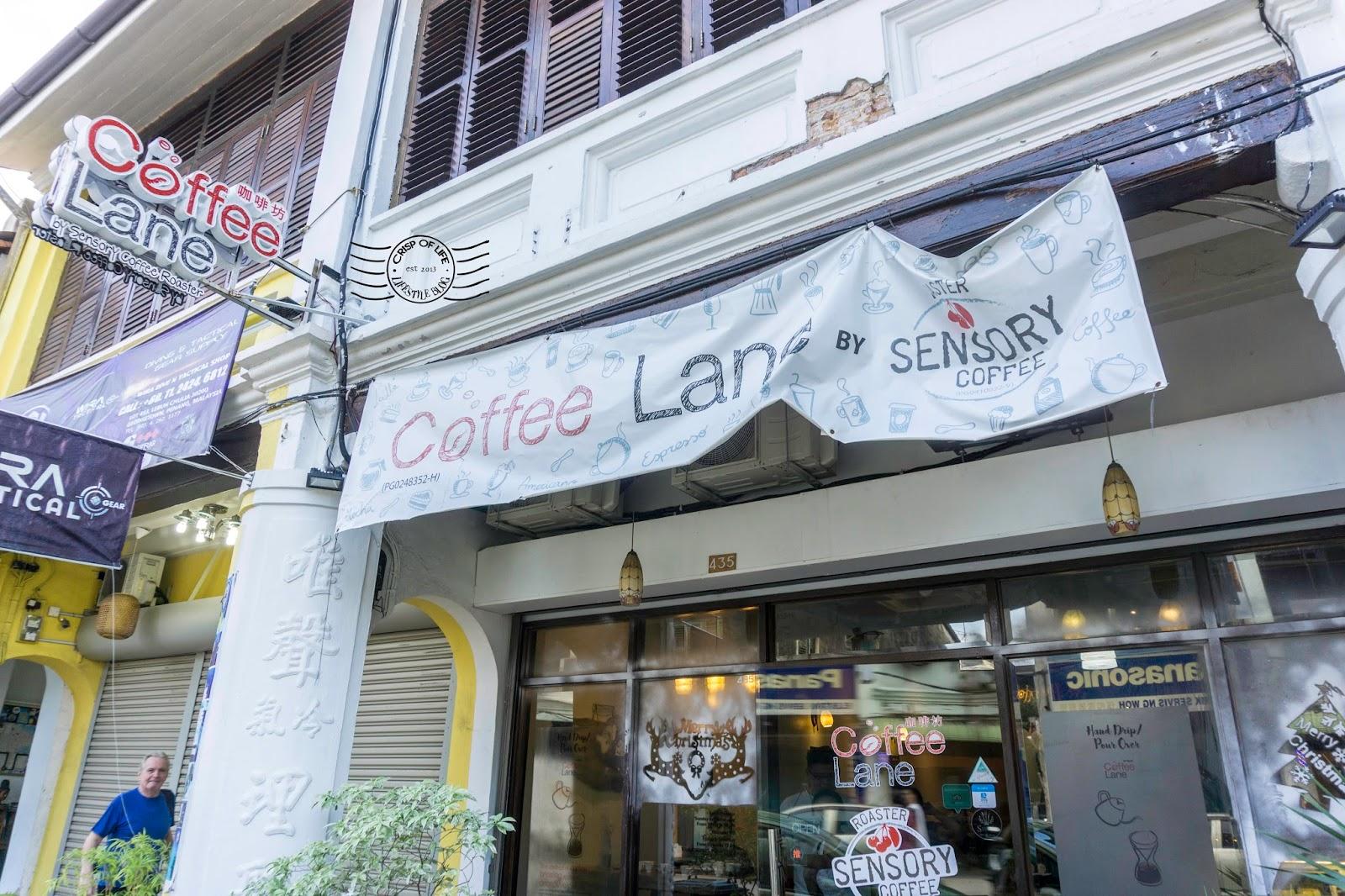 Coffee Lane Penang Chulia Street