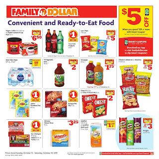 ⭐ Family Dollar Ad 10/20/19 ⭐ Family Dollar Weekly Ad October 20 2019