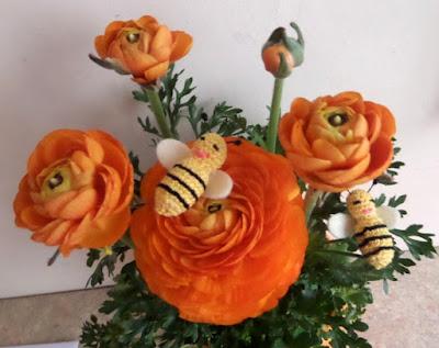 Szydełkowe pszczólki