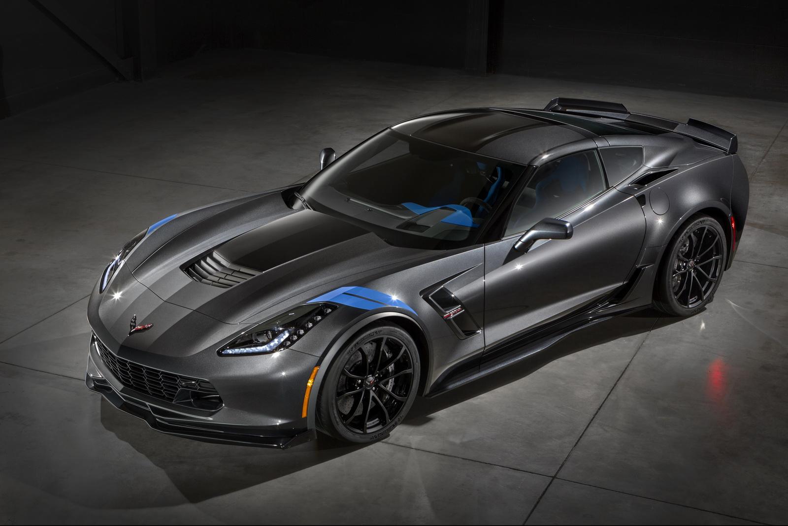 Chevrolet Corvette Grand Sport 2017 quá ấn tượng trong thiết kế