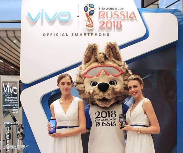 Vivo Unveiled Special Edition 2018 FIFA World Cup Smartphone