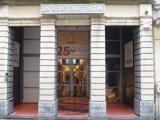La Boutique Tintin: The Tintin Shop