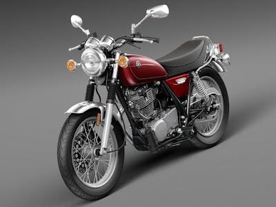 2016 Yamaha SR400 retro bike image