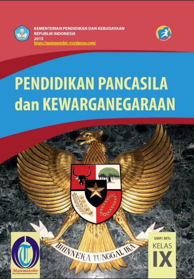 Download Buku Siswa Kurikulum 2013 SMP MTs Kelas 9 Mata Pelajaran PPKn