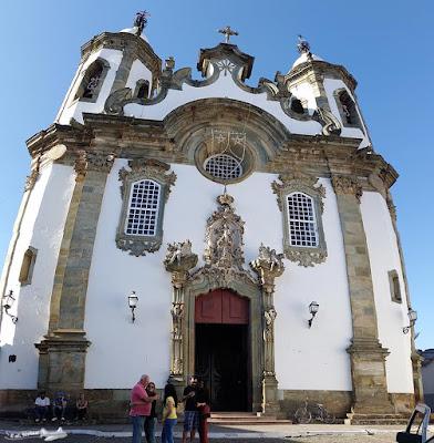 São João del-Rei, Caminho Velho, Estrada Real, Igreja de Nossa Senhora do Carmo