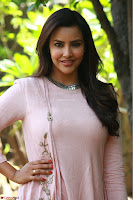 Priya Anand in simply Pink at an interview for movie KOOTATHIL ORUTHAN~  Exclusive celebrities galleries 014.jpg