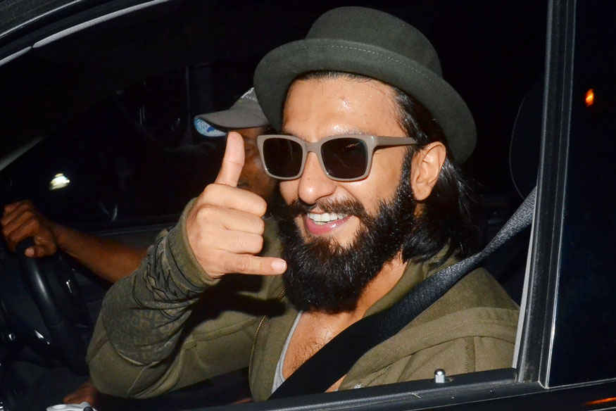 Ranveer Singh at Radio Club in Bandra, Mumbai