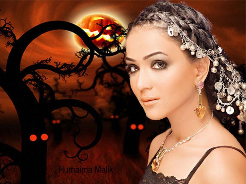 Humaima Malik Stylish Wallpapers 2012