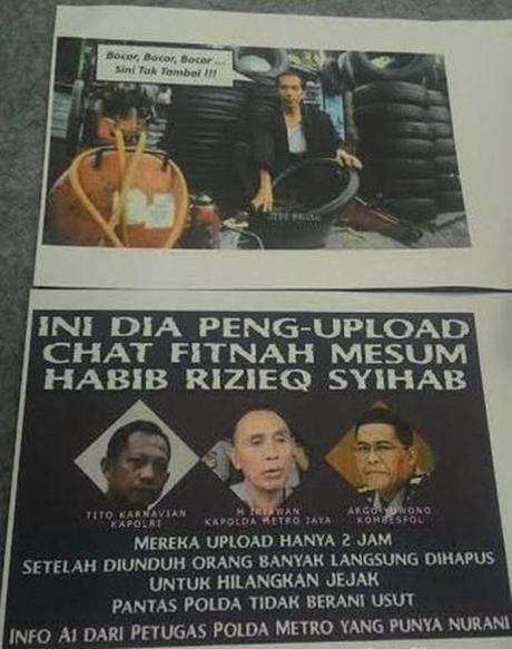 Hina Presiden dan Kapolri di FB, Burhanudin Diciduk Polisi