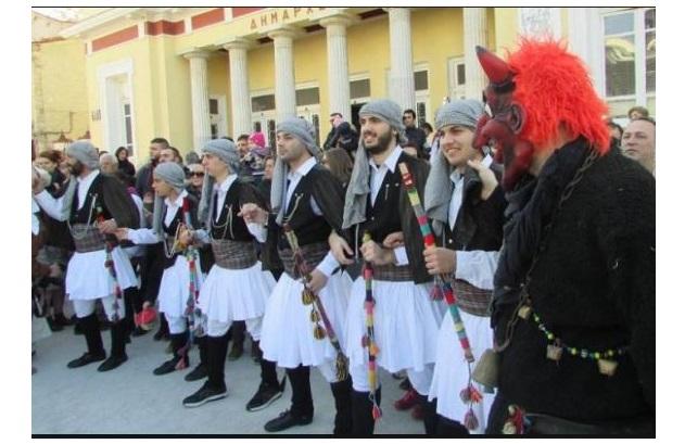 """Συγχαρητήρια του Δήμου Κοζάνης για την ένταξη των """"Μωμόγερων"""" στο Διεθνή Κατάλογο της UNESCO"""