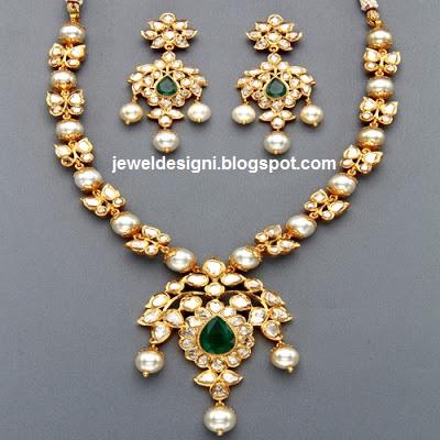 Antique Pearl Jewellery Designs