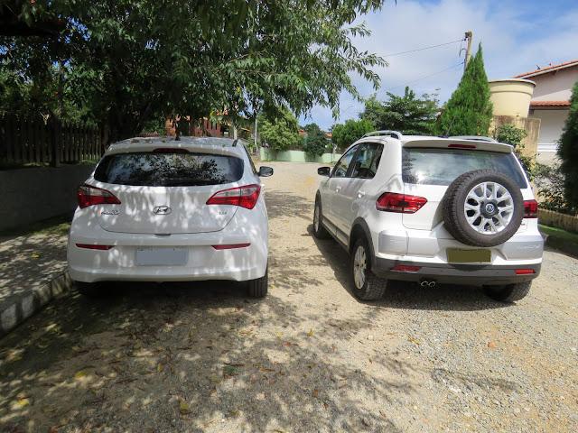 Hyundai HB20 1.6 2016 x VW Fox 2016