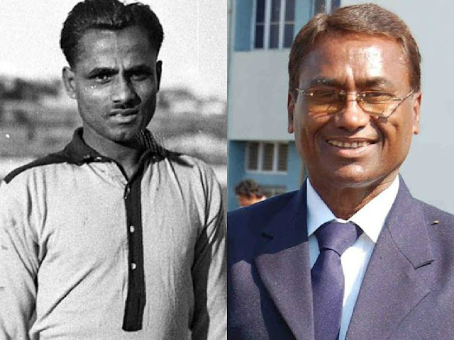 Major Dhyan Chand and Ashok Kumar (Hockey)