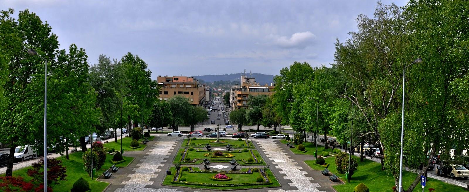 Vista da cidade de Felgueiras por Expresso Felgueiras