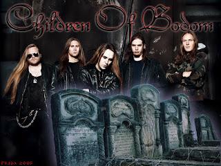 Photo des membres du groupe Children of Bodom