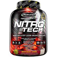 MuscleTech Nitrotech Performance Series.
