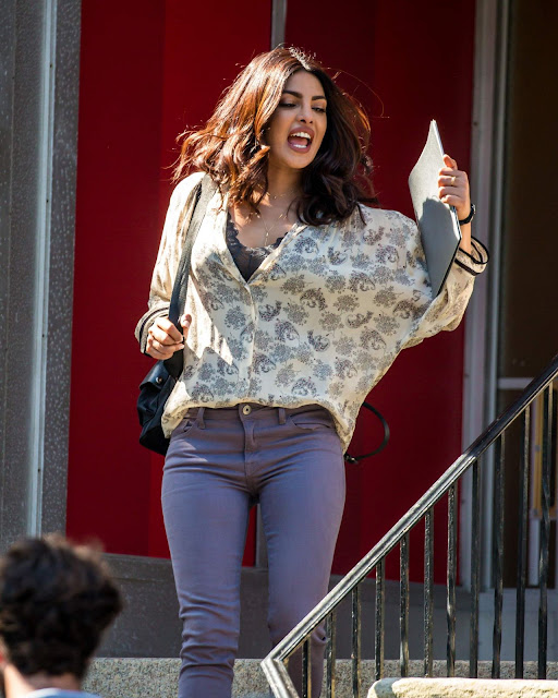 Priyanka Chopra – 'Quantico' Set in Tarrytown