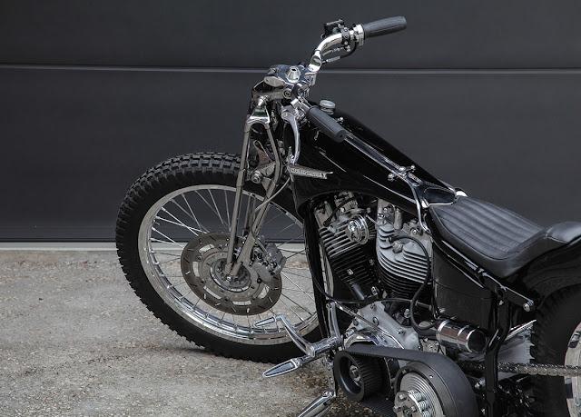 Harley Davidson FLH 1200 1972 By Shiny Hammer Hell Kustom