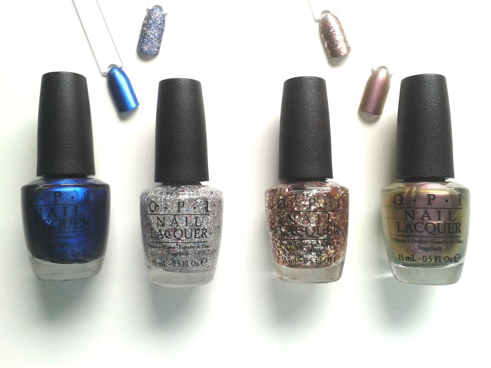 OPI Muppets Most Wanted Nail Lacquers Set Duo Review Swatches