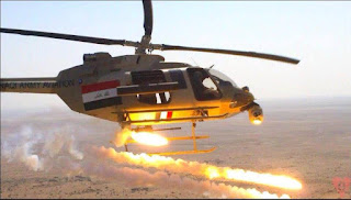 مقتل 110 من عناصر داعش الوهابي بضربات لطيران الجيش العراقي في ناحية العياضية شمال تلعفر