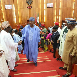 Senate Adjourns Plenary Again, To Resume In November