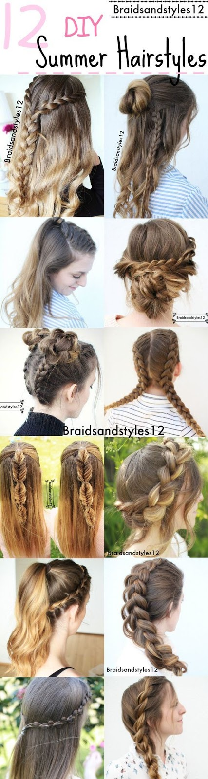 amazing summer hairstyle ideas