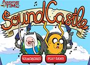 juegos hora de aventura sound castle