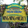 Bunga Papan Dukacita Ming Ming dan Mercy