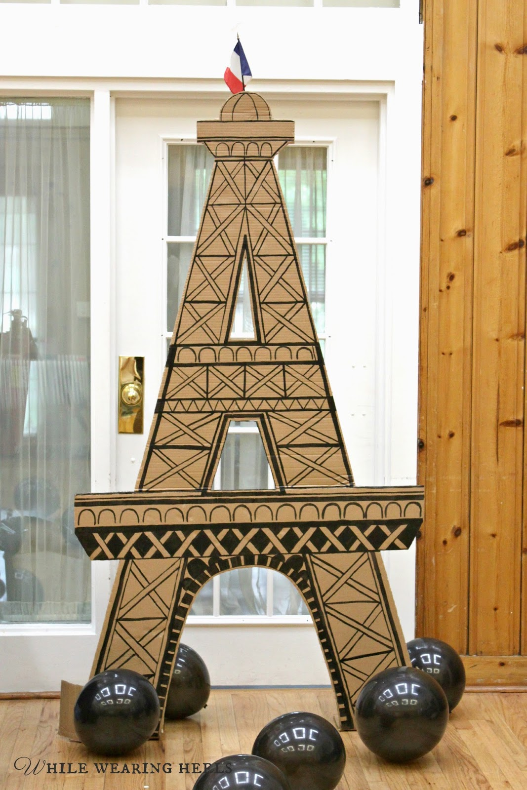 i have plenty of small eiffel tower statues but when i think eiffel tower decorations in my opinion bigger is better