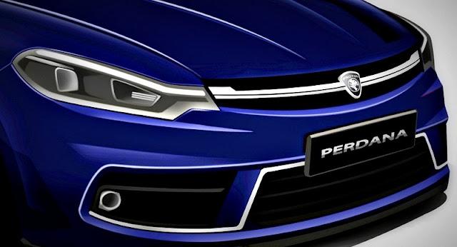 Model Proton Perdana Baru 2016