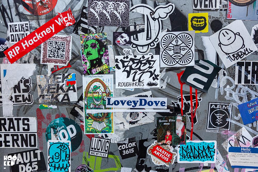 Stick it up: Shoreditch Street Art Stickers Edition 8