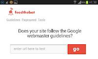 paianjen web, url test