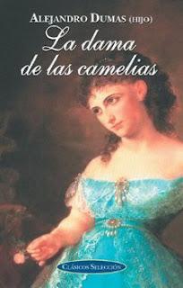 Portada del libro la dama de las camelias para descargar en pdf