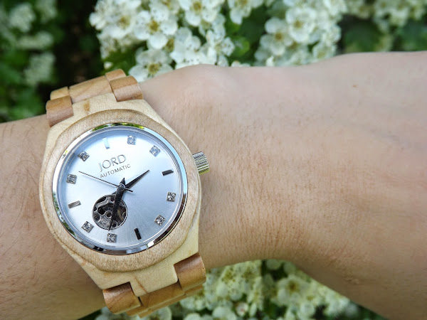 Jord Wood Watch | Cora Series - Maple & Silver