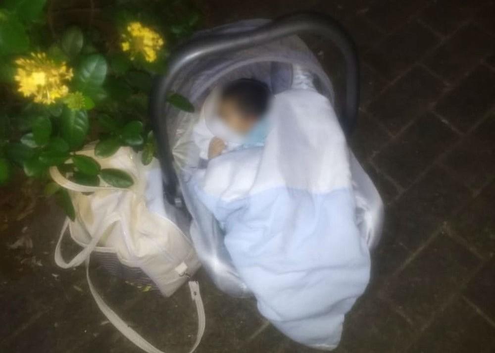 Bebê de 14 dias é encontrado abandonado em praça de Rio Preto