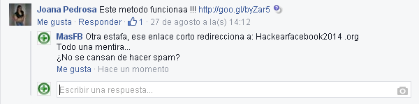 Hackear Facebook SPAM - MasFB