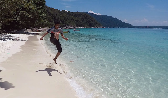 running on the turtle beach