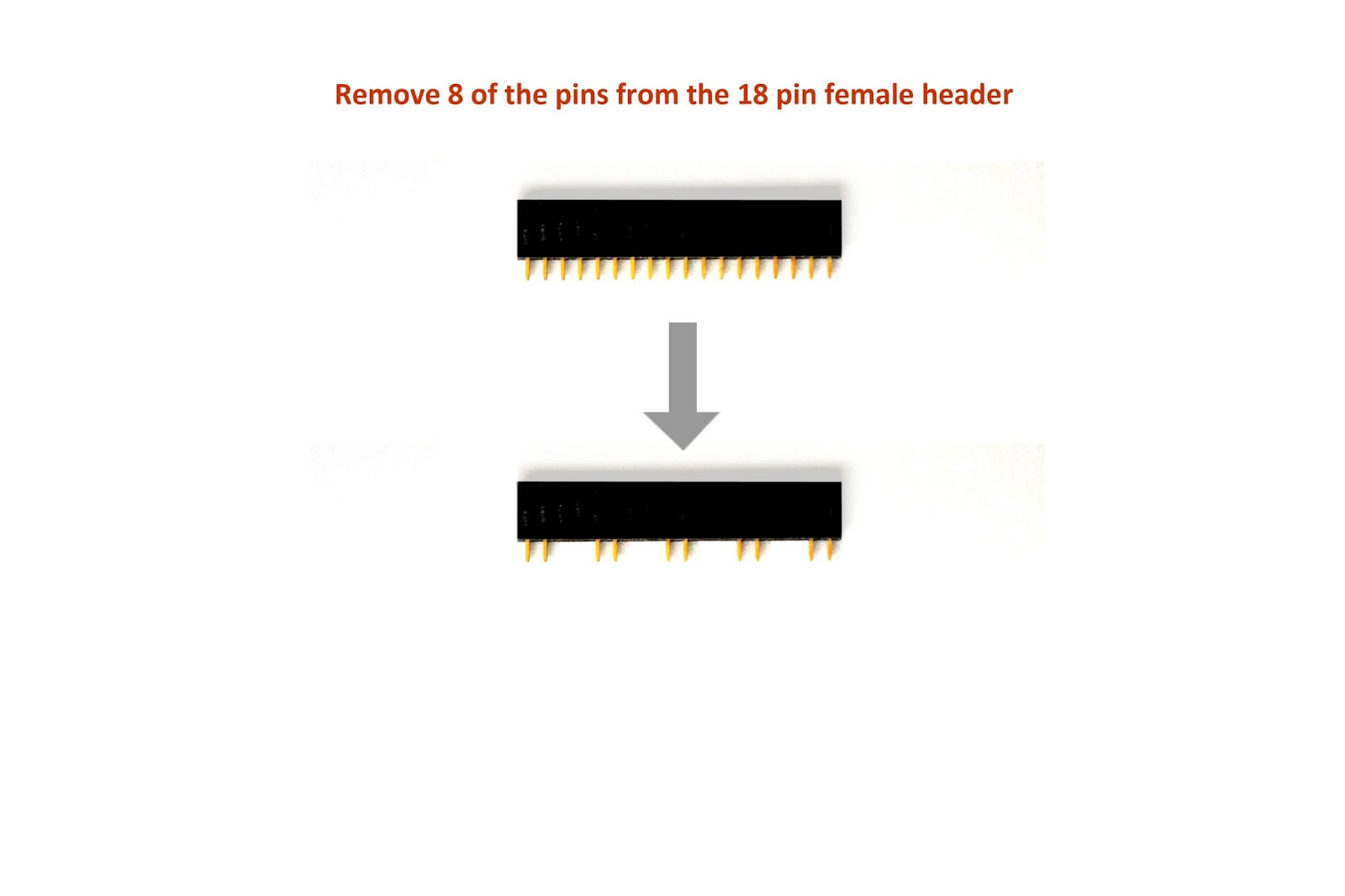 8 Pin Female Header