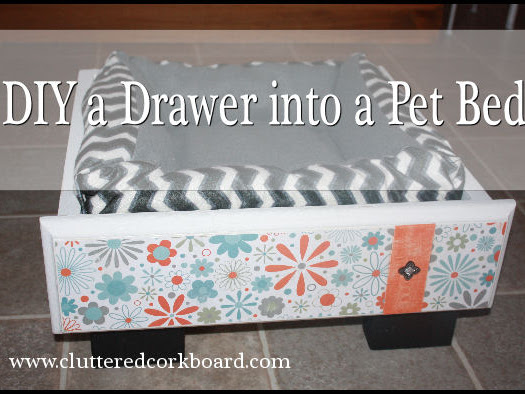 DIY an Old Drawer into a Dog or Cat Bed