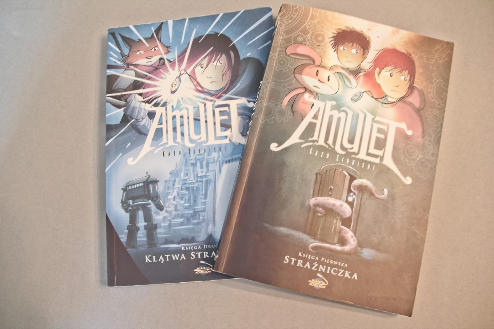 Amulet - komiksowa jazda bez trzymanki