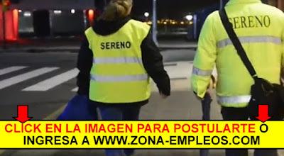 BUSCAN SERENO Y PERSONAL DE LIMPIEZA NOCTURNA