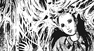 Kazuo Umezu, illustration tirée de La Maison aux insectes (Le Lézard Noir)