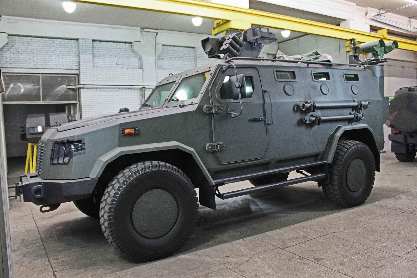 Бронеавтомобіль Козак-2М2