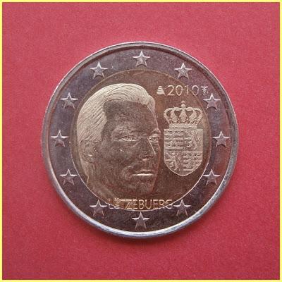 2 Euros Luxemburgo 2010