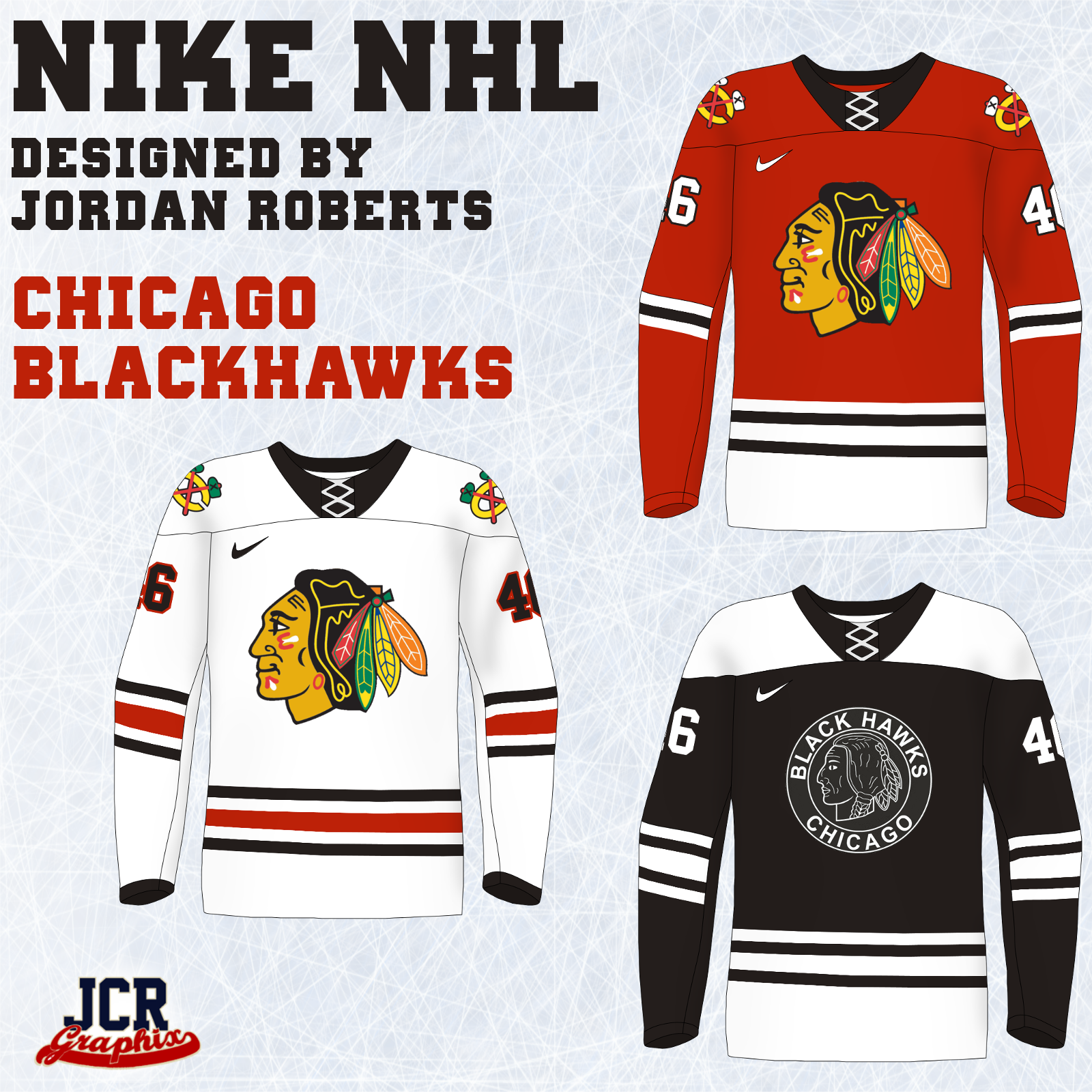 online store c72bd 4ca60 NHL Nike Jerseys - Wild and Blue Jackets added - Concepts ...