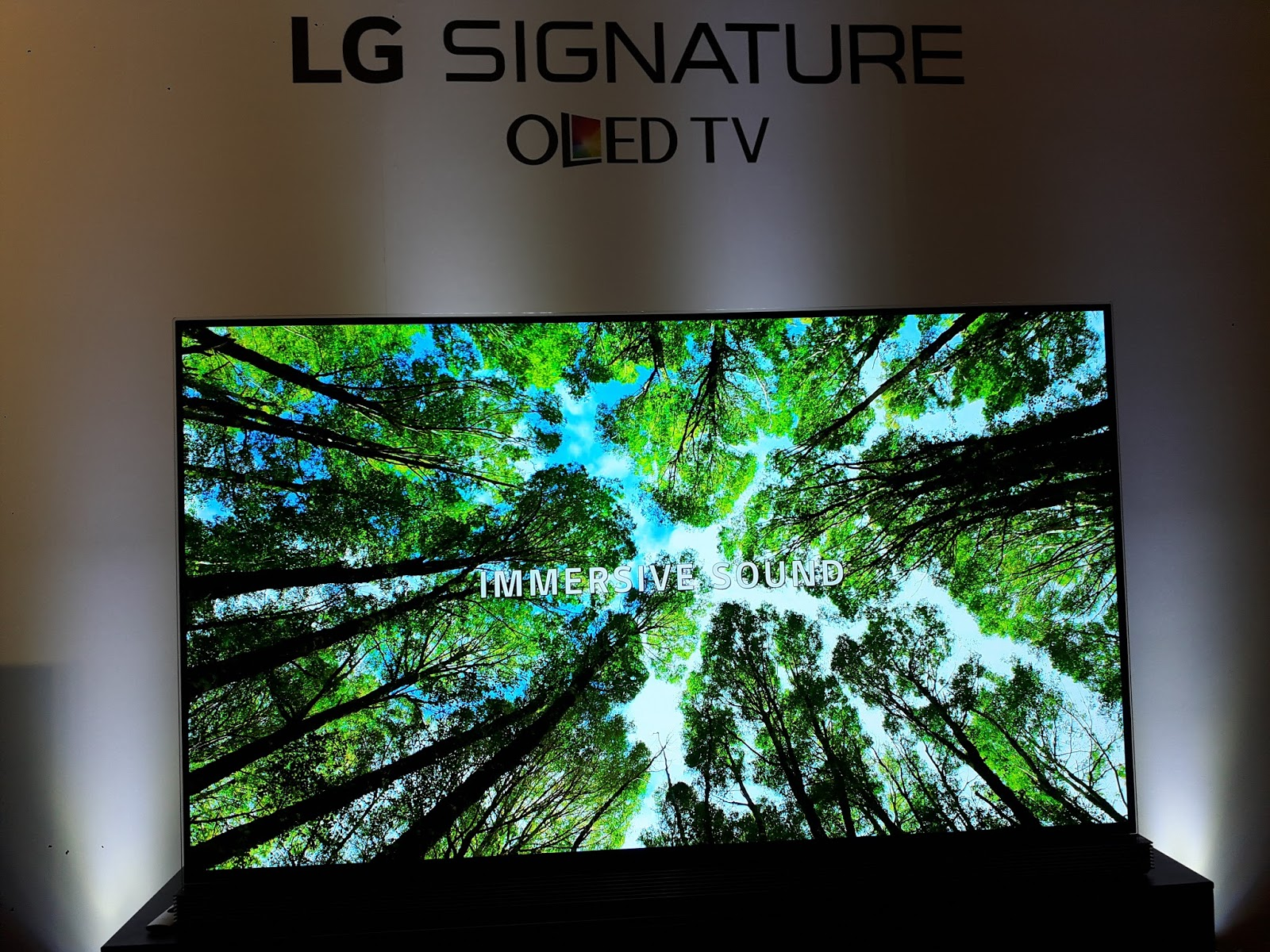 Bloggers Philippines Lg Launches Of 77 Inch Lg Signature Oled Tv