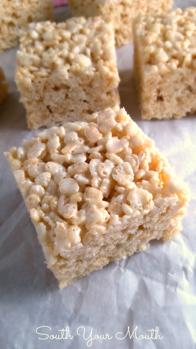 South Your Mouth Best Ever Rice Krispie Treats