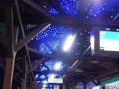 江ノ電駅イルミネーション:江ノ島駅