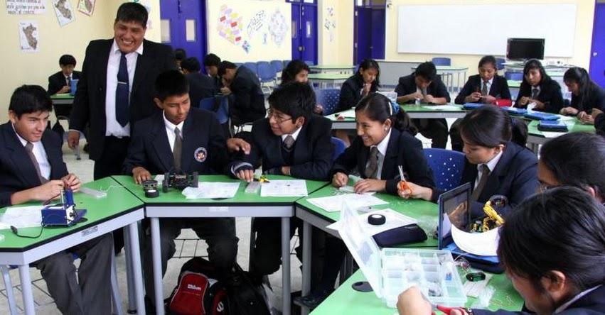 COAR: Mañana sábado 11 será primera prueba nacional para acceder a Colegios de Alto Rendimiento - MINEDU - www.minedu.gob.pe