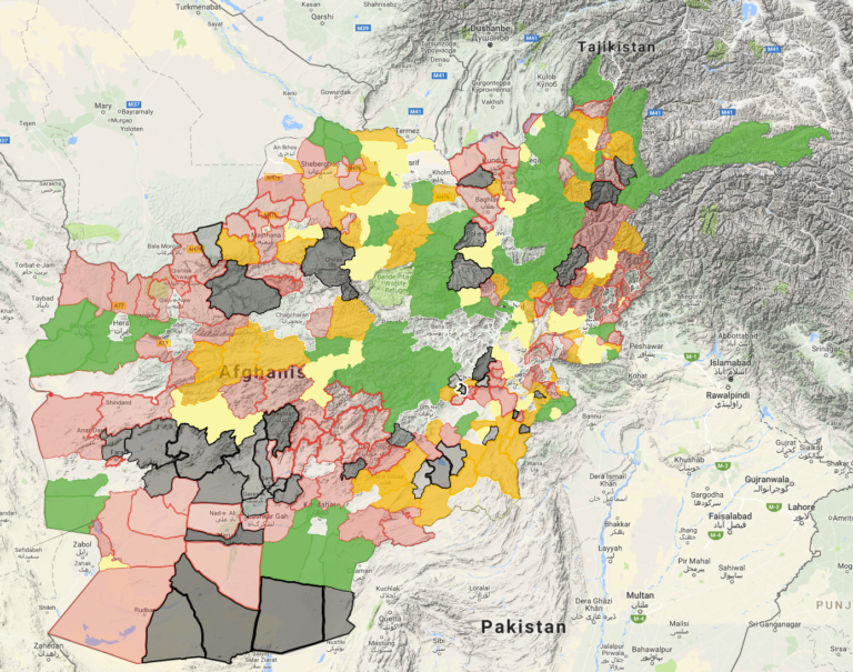 War News Updates Afghan Taliban Post A Map Of Territory It - Pir mahal map